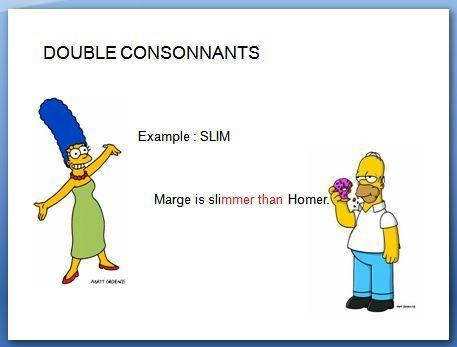 comparatif anglais facile