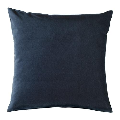 coussin bleu ikea