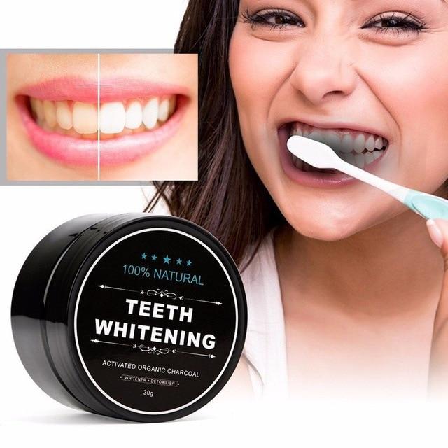 dentifrice charbon actif