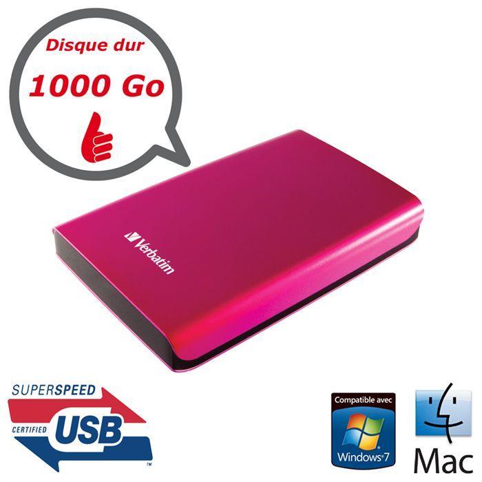 disque dur externe 1000 go pas cher