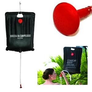 douche de camping portable