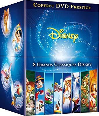 dvd disney coffret