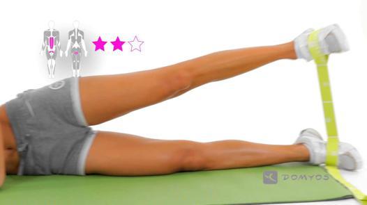exercice elastique decathlon