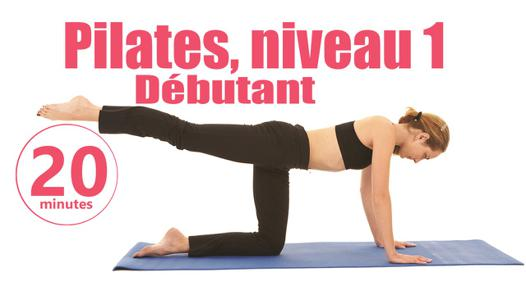 exercices pilates débutant