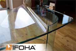 film protecteur pour table en verre