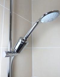 filtre douche chlore
