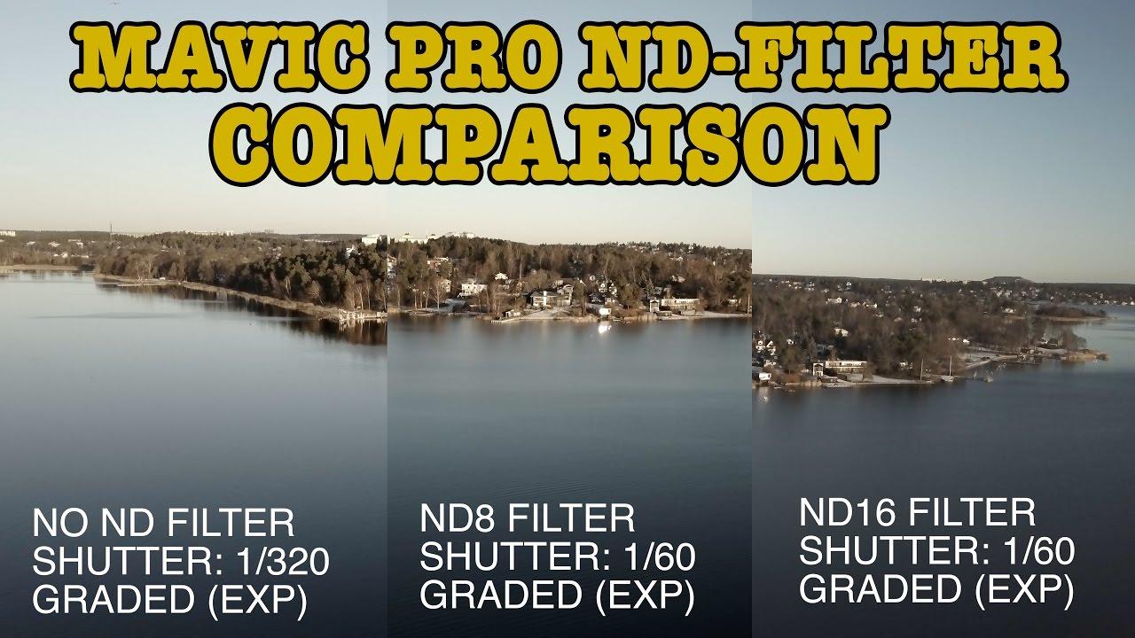 filtre mavic pro