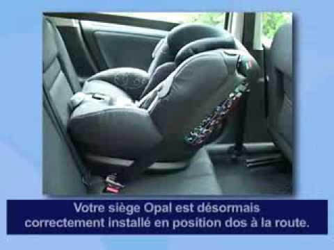 fixation siege auto bebe confort