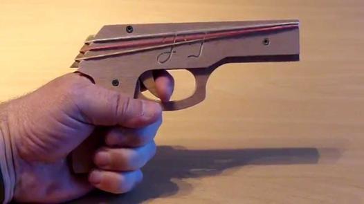 fusil a elastique