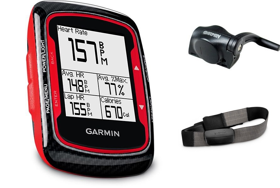 garmin edge 500 rouge