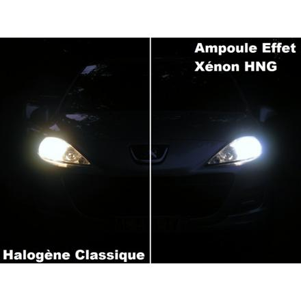 h7 effet xenon