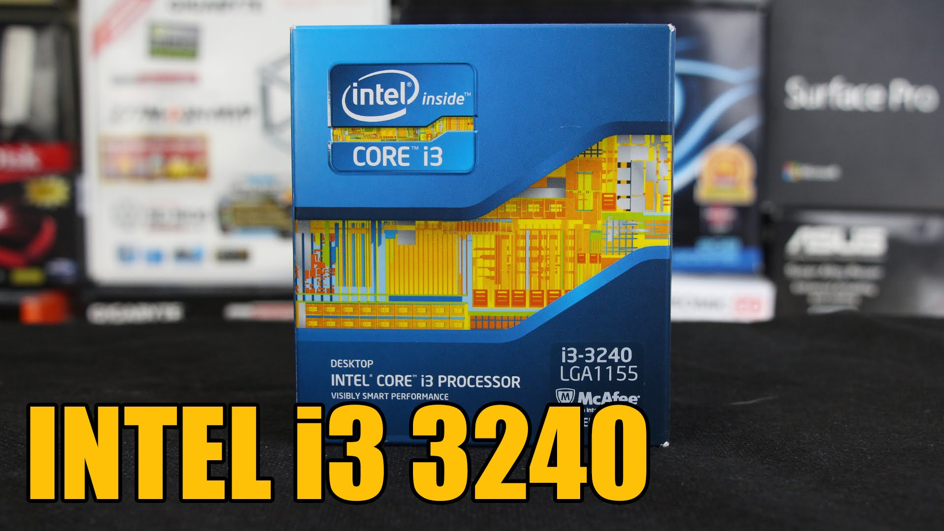 intel core i3 3240 test