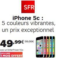 iphone 5c avec forfait