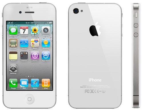 iphone blanc