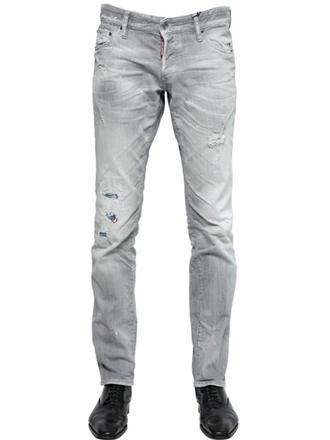 jeans dsquared gris