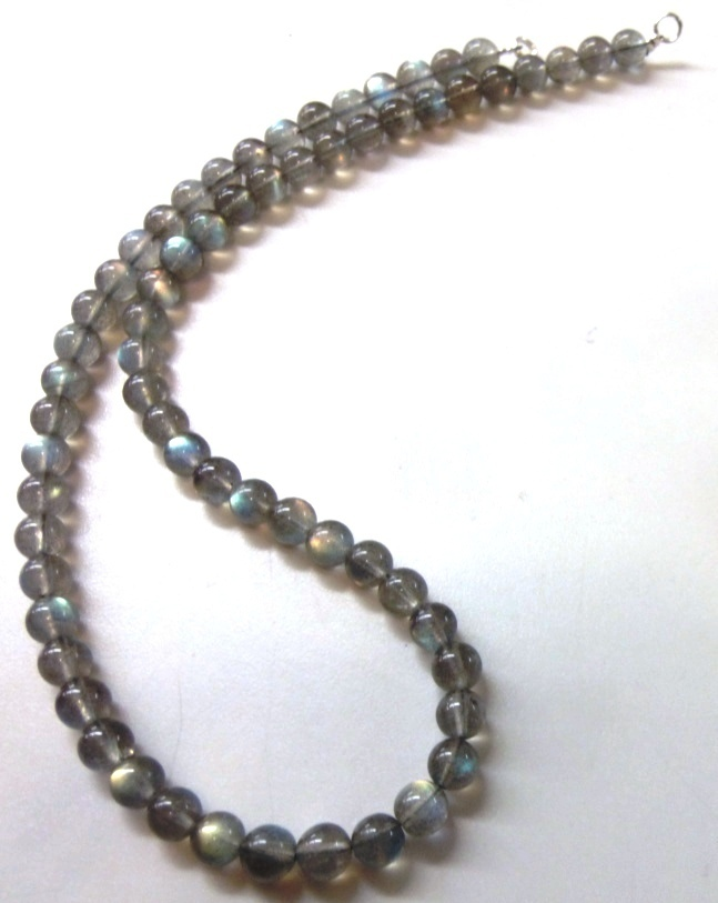 labradorite collier