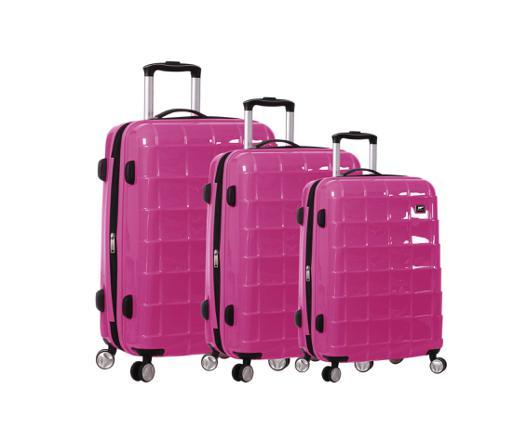 lot de valises rigides pas cher