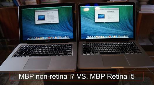 macbook pro retina ou pas