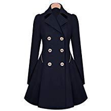 manteau officier femme pas cher