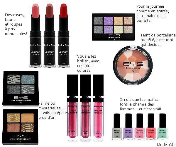maquillage et de bonne qualité