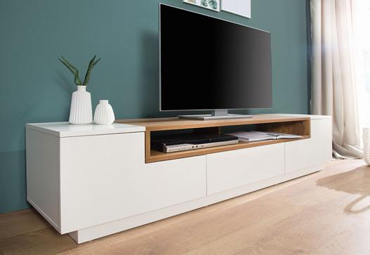 meuble tv design blanc