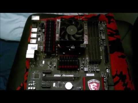 montage carte mere msi
