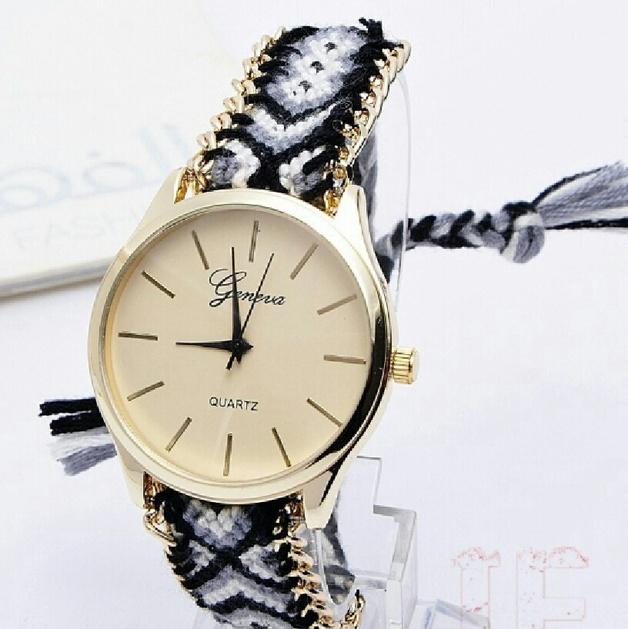 montre avec bracelet brésilien