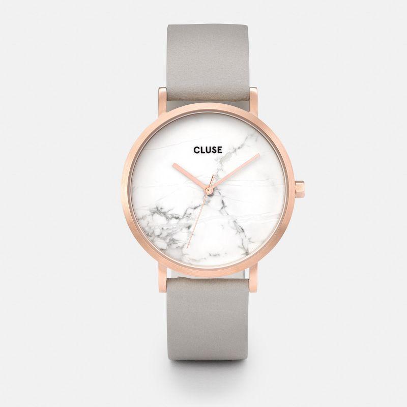 montre cluse femme marbre