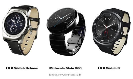montre connectée android comparatif