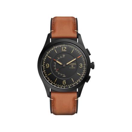 montre cuir marron