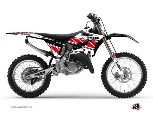 moto cross rouge