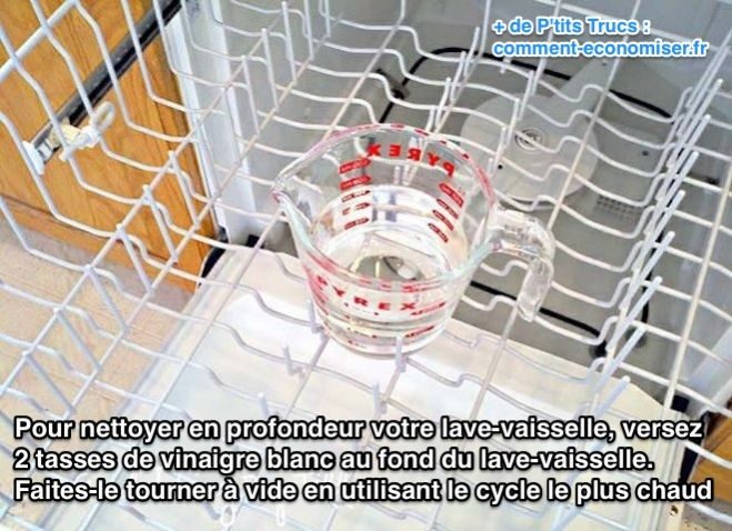 nettoyer lave vaisselle