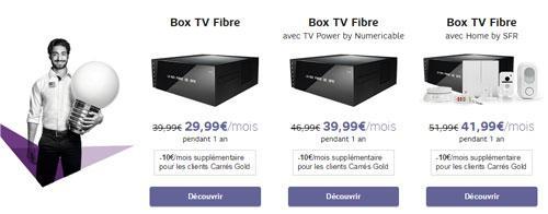 offre box tv
