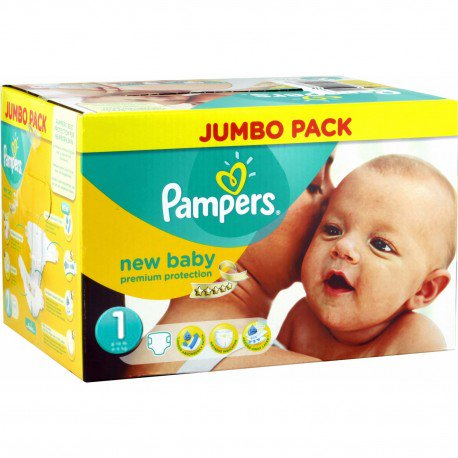pampers taille 1 pas cher