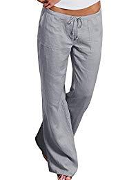 pantalon en lin femme