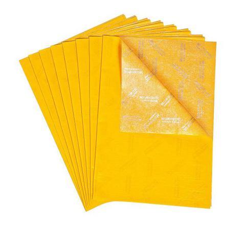 papier carbone jaune