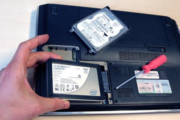 pc portable avec ssd et hdd