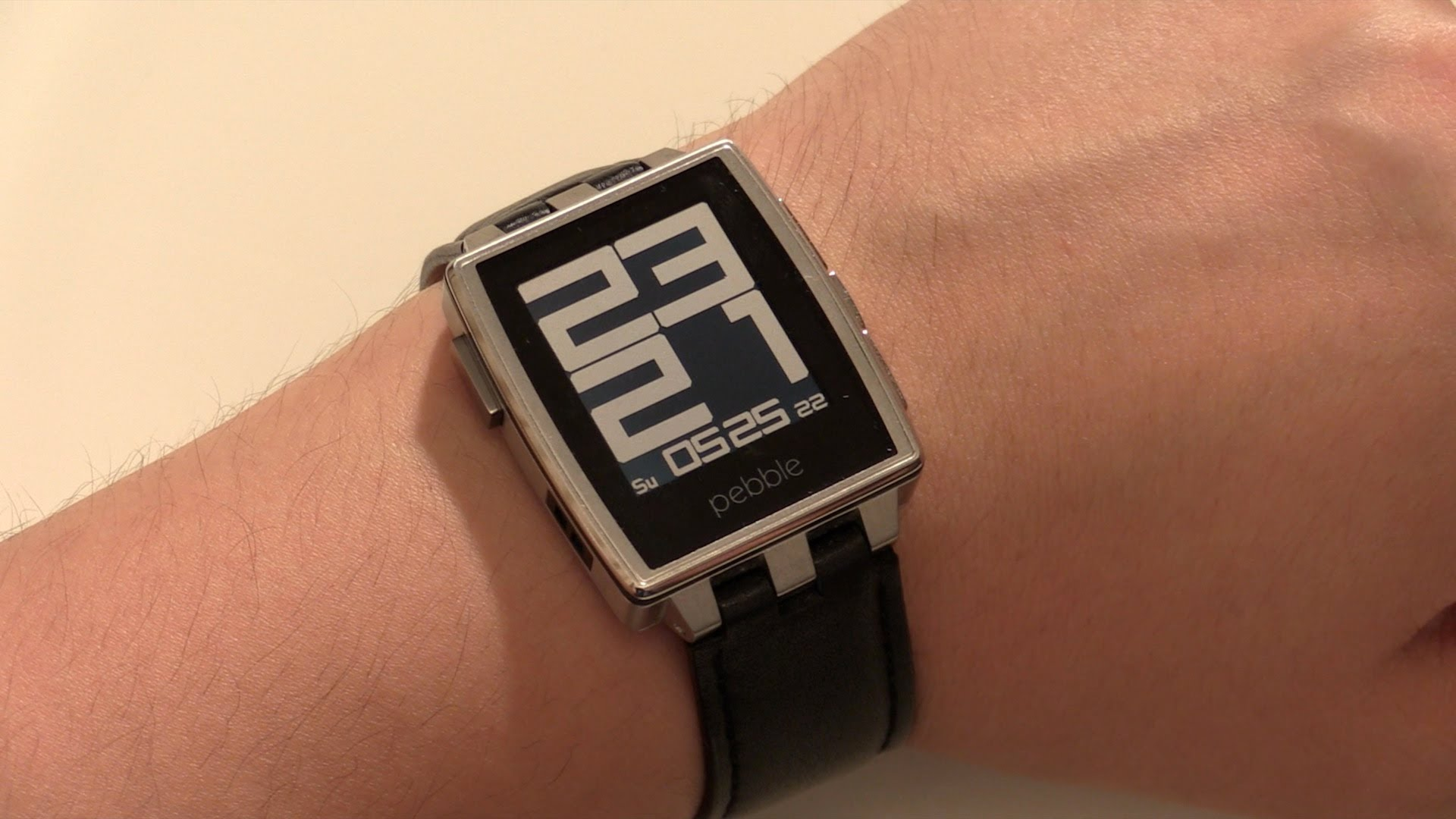pebble steel test