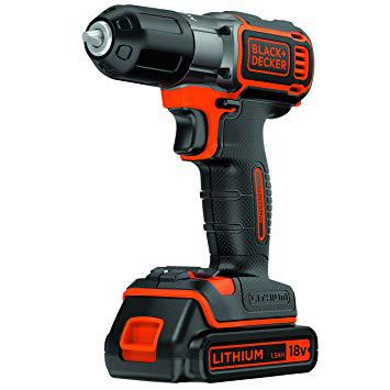 perceuse sans fil 18v black et decker