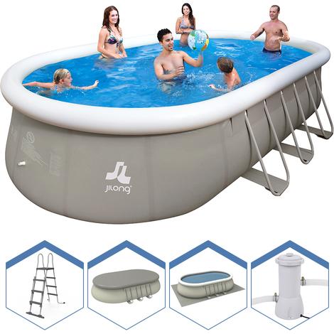 piscine jilong ovale