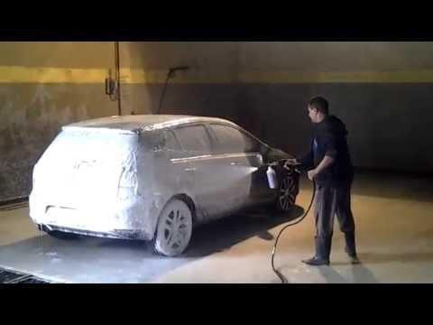 pistolet a mousse lavage auto