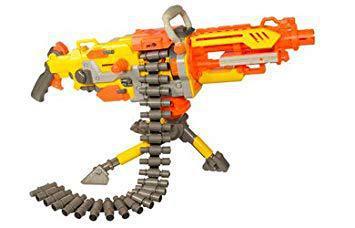 pistolet nerf mitraillette