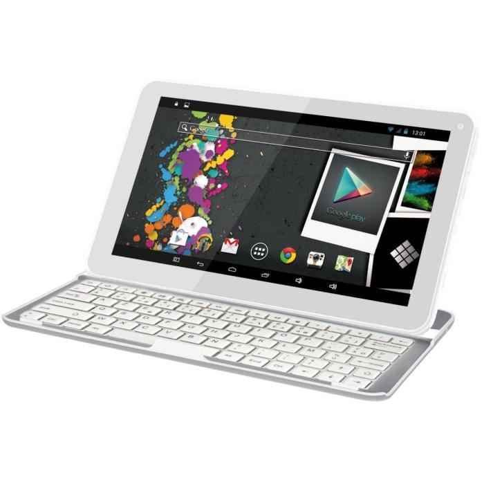 polaroid tablette clavier