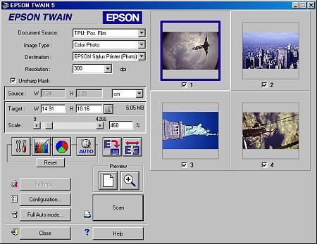 programme scanner epson