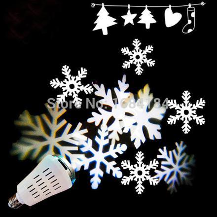 projecteur flocons de neige