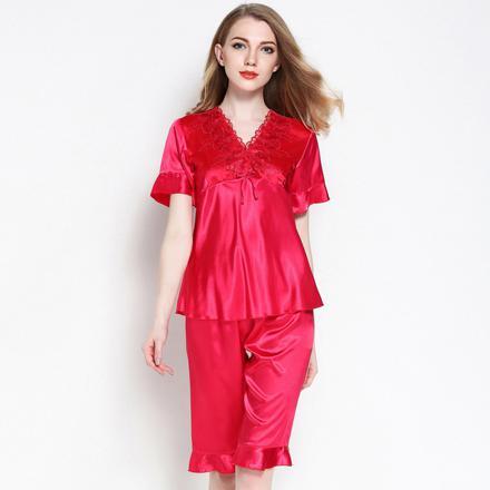 pyjama femme en satin