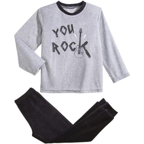 pyjama garçon velours