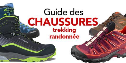quelles sont les meilleures chaussures de randonnée
