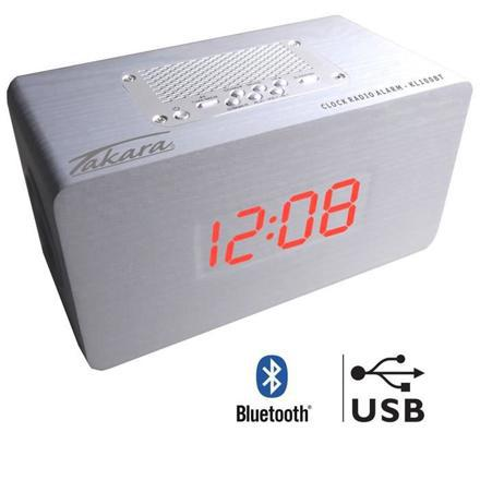 radio réveil bluetooth usb