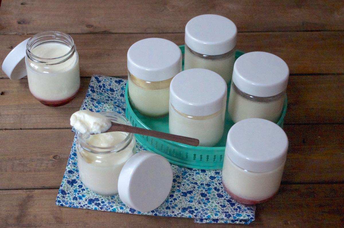 recette de yaourt maison avec yaourtière